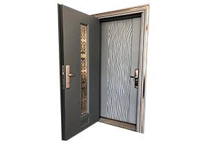 烤铜门漆防盗门